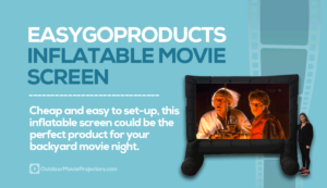 EasyGoProducts Inflatable Outdoor Movie Screen Review