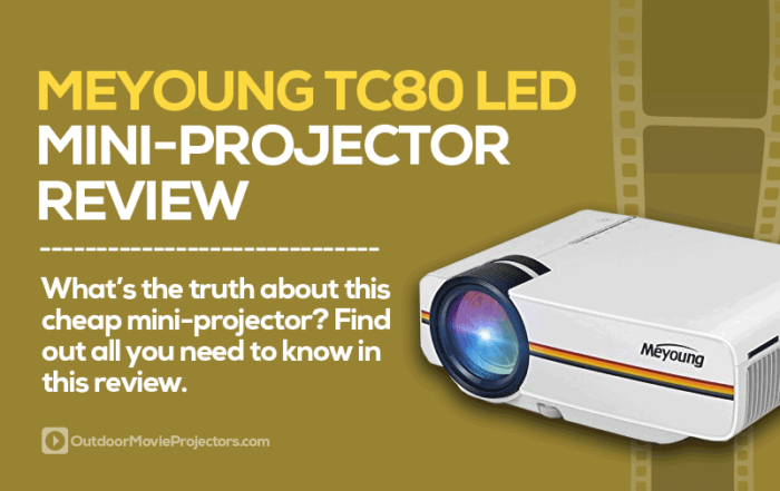 Meyoung TC80 Projector Review